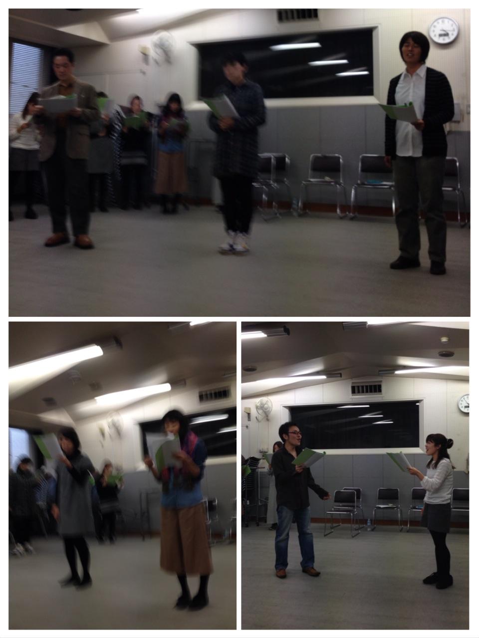 【モア東京ボーカル教室】11月ミュージカル合同練習会報告