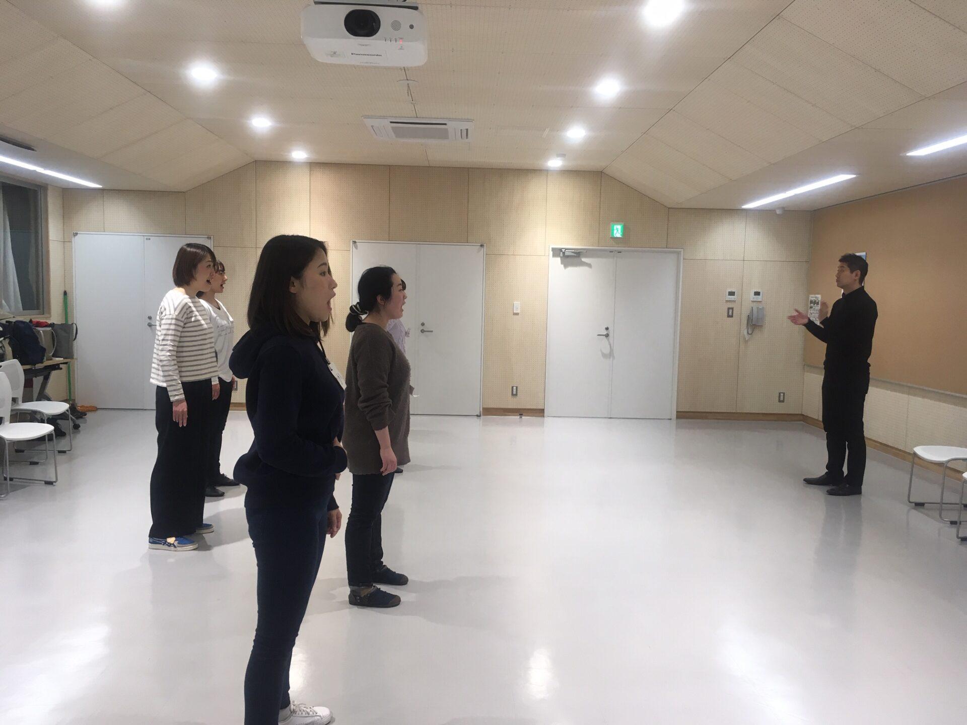 【ミュージカル合同練習会】2月 練習会レポート!