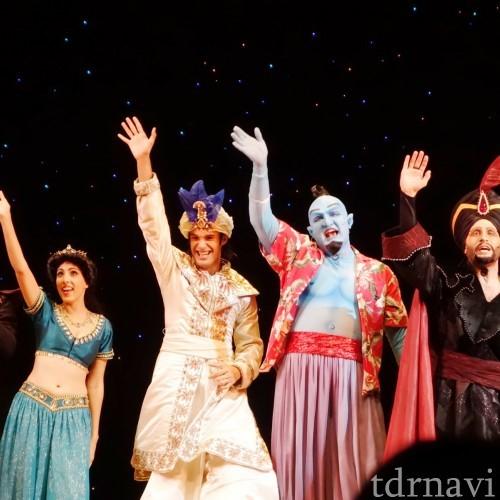 【Sashaの活動ブログその⑲】Aladdin三昧してきました♪♪