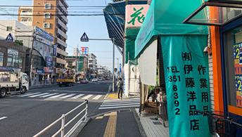 1 JR総武線 北口改札を正面に出る